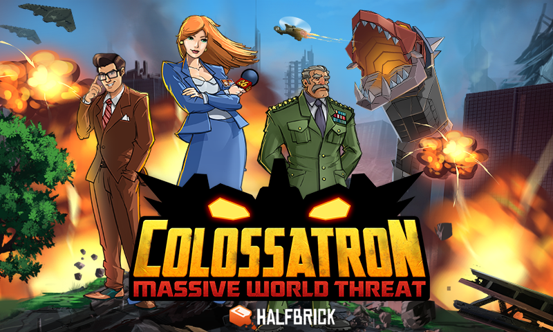 Colossatron- screenshot