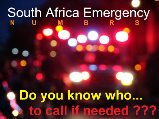 Emergency Numbers South Africa