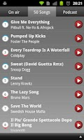 Screenshot of Radio Deejay Live
