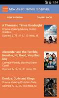 Screenshot of Cameo Cinemas
