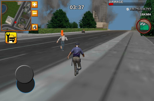 Crime City Real Police Driver 4.1 screenshots 2