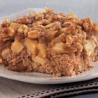Upside-Down Apple-Spice Cake.