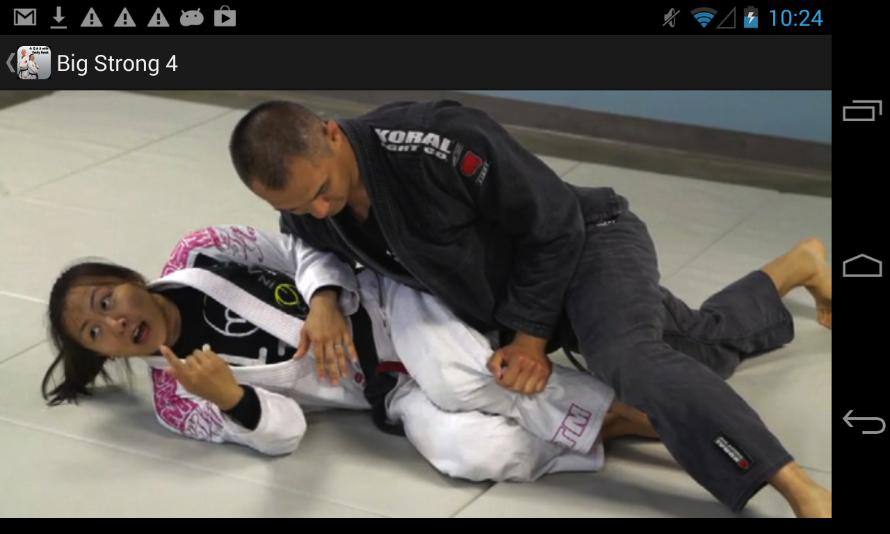 Big Strong 4, Advanced BJJ Q&A - screenshot