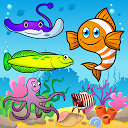 Puzzle for Toddlers Sea Fishes APK