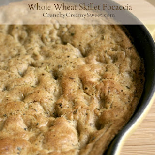 Whole Wheat Skillet Focaccia.