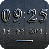 BERLIN Digital Clock Widget
