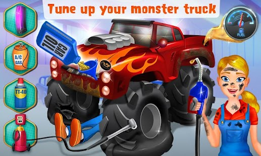 Mechanic Mike Monster Truck Android Apps On Google Play
