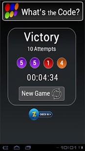 Whats the Code 👍🏻 Mastermind Game- screenshot thumbnail