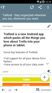 Trelloid - screenshot thumbnail