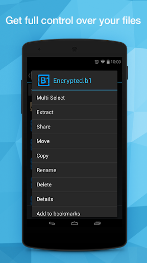 B1 File Manager and Archiver 1.0.084 screenshots 1