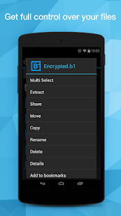 B1 File Manager and Archiver Screenshot