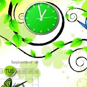 Forest Clock Live Wallpaper