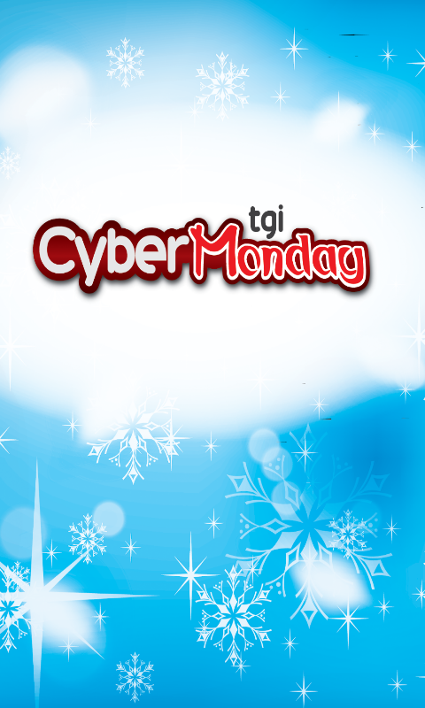 TGI Cyber Monday - screenshot