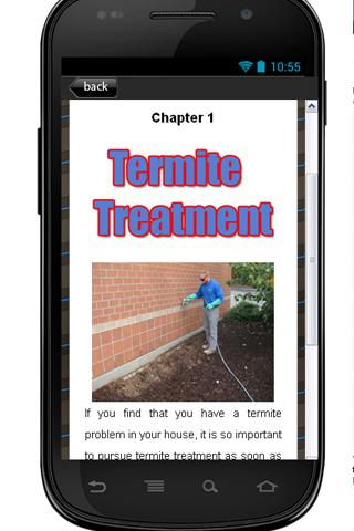 Termite Treatment Guide - screenshot