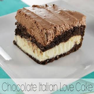 Chocolate Italian Love Cake.