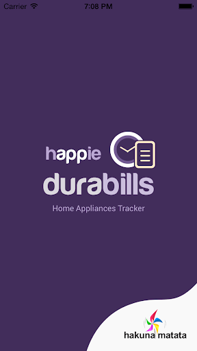 Home Appliances Tracker
