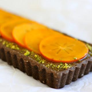 Chocolate Persimmon Tart à la Golubka