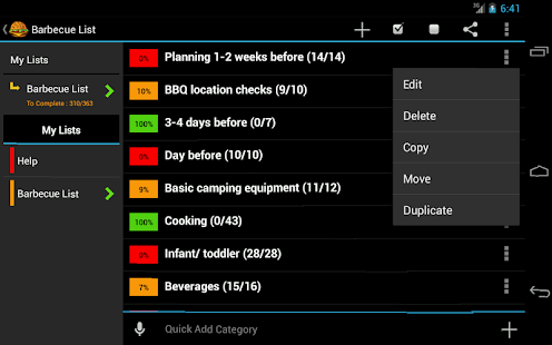 BBQ Planner- screenshot thumbnail