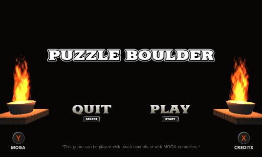 Puzzle Boulder