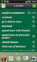 Screenshot of Life RPG