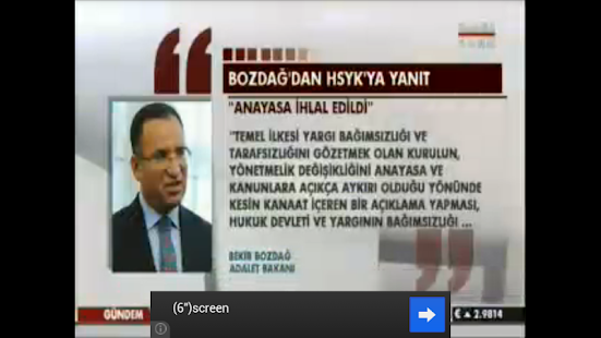 Online Turkish TV LIVE - screenshot thumbnail