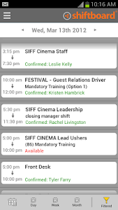 Shiftboard People Scheduling screenshot 3