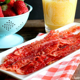 Strawberry Candied Bacon