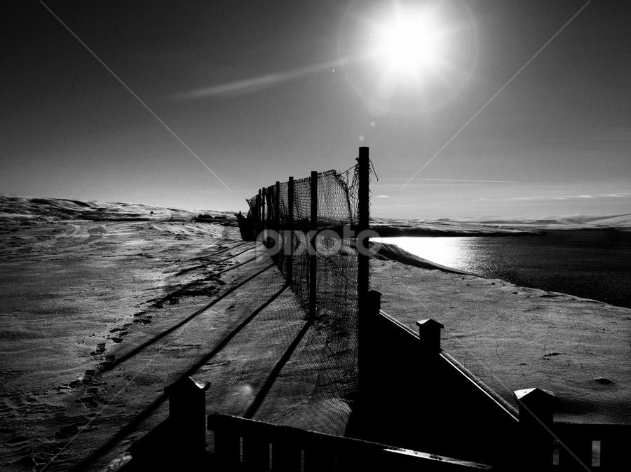 by Kristinn Gudlaugsson - Black & White Landscapes ( island norduland )