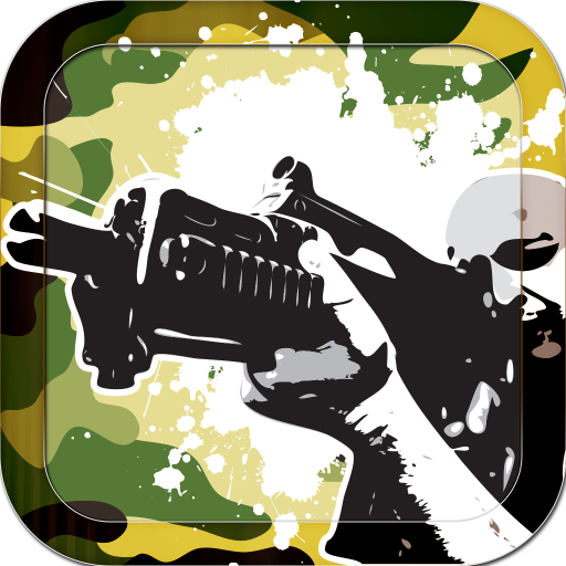 射擊遊戲 LOGO-APP點子