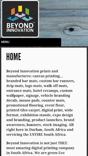 Beyond Innovation Printing