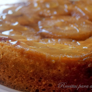 Upside-Down Pineapple and Banana Cake.