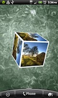 Screenshot of Photo Cube Lite Live Wallpaper