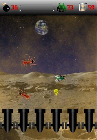 Galactic Insects- screenshot