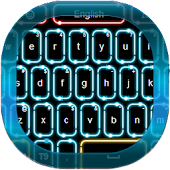 Neon Flow Keyboard