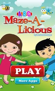 ABC Mazealicious Toddler- screenshot thumbnail