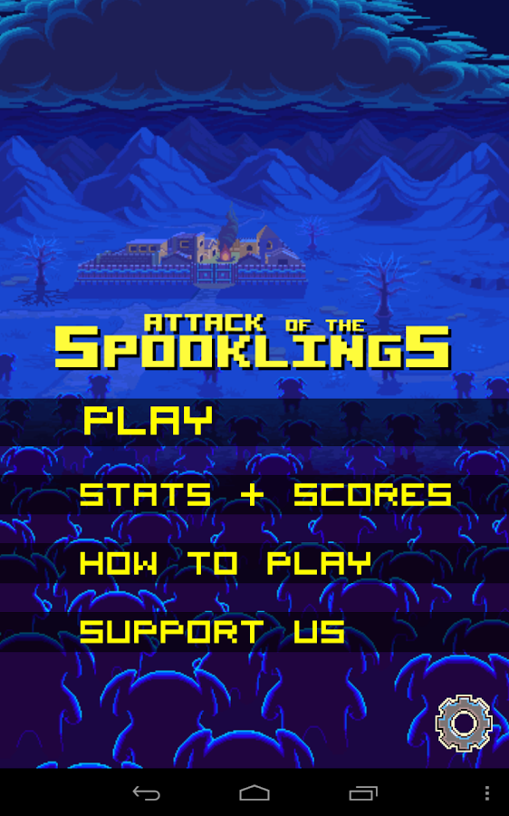 Attack of the Spooklings - screenshot
