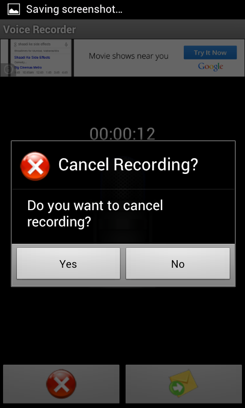 Voice Recorder - screenshot