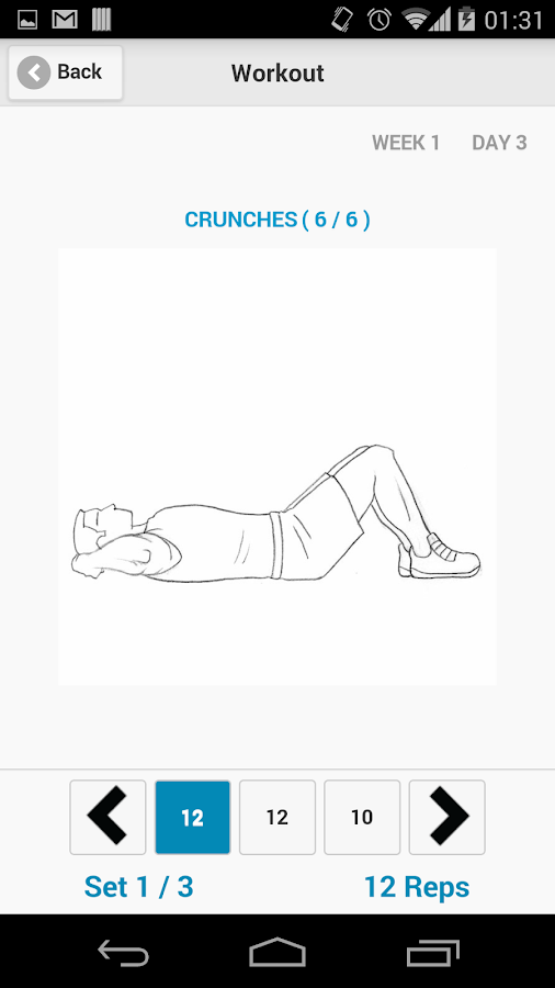 Home Workout - free exercises- screenshot