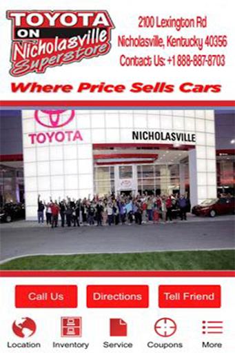 Toyota On Nicholasville
