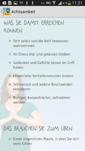 【免費健康App】Achtsamkeitstraining-APP點子