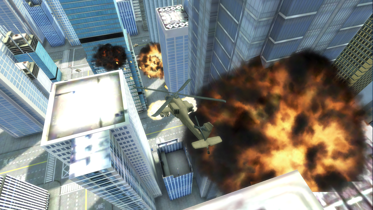 GT Apache vs Tank in New York - screenshot