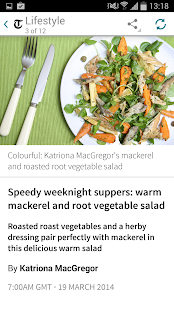The Telegraph for Android - screenshot thumbnail