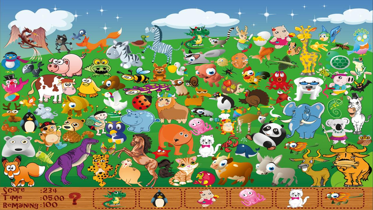 animal shadows hidden object android apps on google play