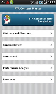 PTA Content Master screenshot for Android