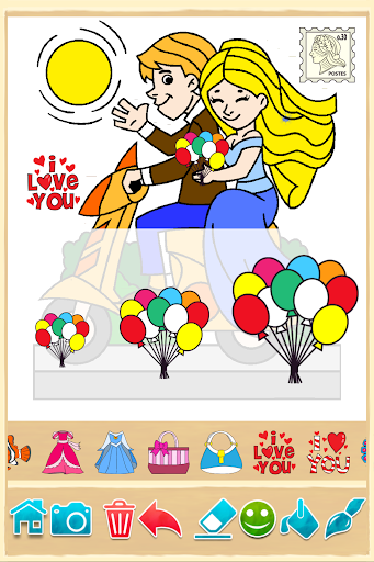 Coloring game for girls and women 9.7.2 Screenshots 3