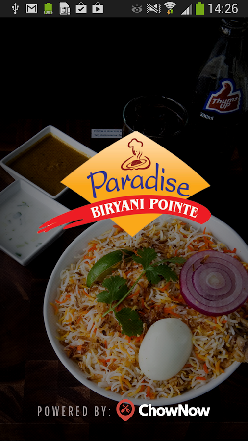 Paradise Biryani Pointe- screenshot