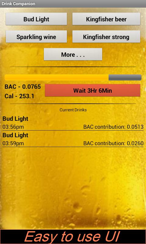 Drink Companion- screenshot
