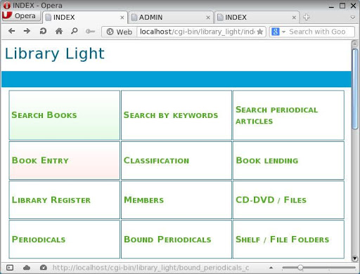 Library light