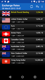 Exchange Rates - screenshot thumbnail