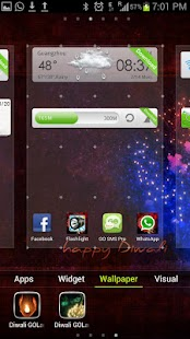 Diwali Theme GO Launcher EX - screenshot thumbnail